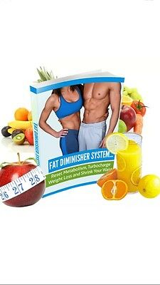 Fat Diminisher Weight Loss System Lose Weight Fast! ....PDF Format 5��