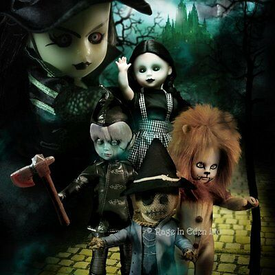 *THE LOST IN OZ* Living Dead Dolls Complete Collectable 5 Doll Set (27cm)