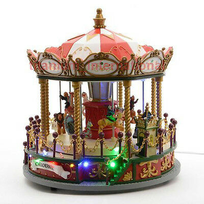 Beautiful Light Up Musical Carousel Christmas Decoration - Brand New