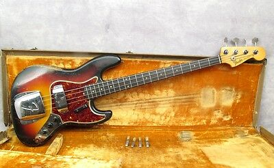 1961 Fender Jazz Bass - Sunburst  - Andy Baxter Bass