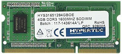 Hyperam, 1600 MHz, DDR3, 4 GB di memoria interna, colore: verde