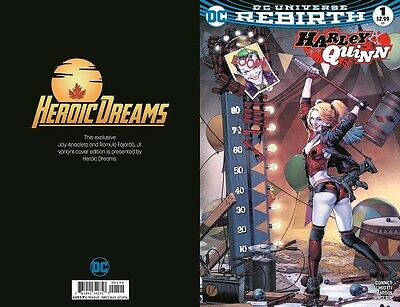 Harley Quinn #1 Jay Anacleto Limited Variant Heroic Dreams Exclusive