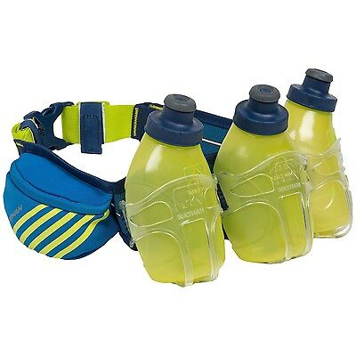 NATHAN MERCURY 3 X 300ml HYDRATION BELT NEW