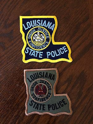 Louisiana State Police Patches