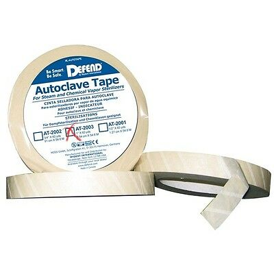 """Autoclave Tape (1"""" x 60 yds) Dental Sterilizer Indicator Tape #AT-2003 by DEFEND"""