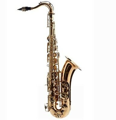 Fever Tenor Saxophone Lacquered Gold with Case, WALTER. Free Delivery