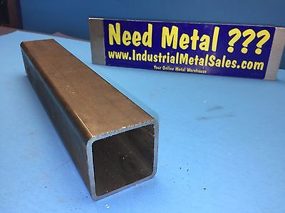 "Steel Square Tube 2"" x 2"" x 11""-Long x .125"" Wall- 2"" Steel Square Tube"