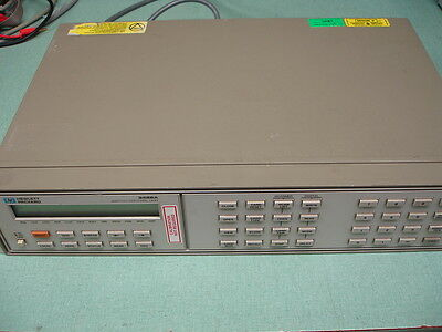 HP Agilent Keysight 3488A Switch/Control W/ 44470A & 44471A x2 Modules