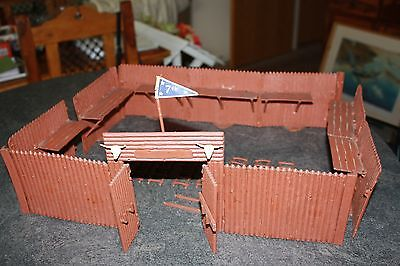 Vintage Timpo Toys 257 Wild West Fort Outpost Fort Worth