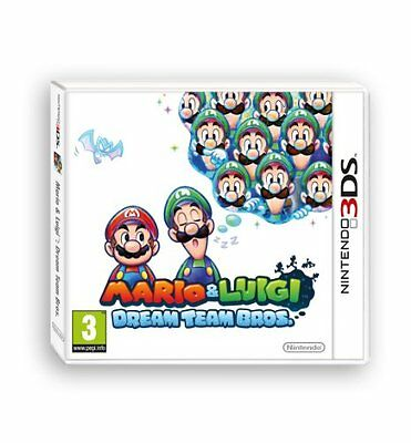 Mario E Luigi: Dream Team Bros - Nintendo 3DS