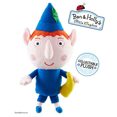 Ben & Holly's Little Kingdom ~ Ben Elf ~ Collectable Plush Soft Toy With Tags