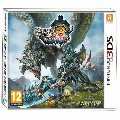 Nintendo Monster Hunter 3 Ultimate, 3DS