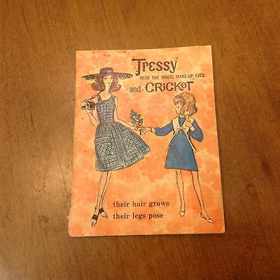 1965 American Character Tressy & Cricket Doll Fashion Booklet Brochure