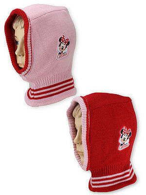 Girls Minnie Mouse Balaclava Hat One Size Fit to 3 to 10 Years 771-327