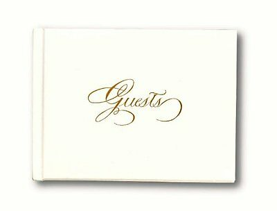 C.R. Gibson Foil Stamped Guest Book, Gold (WG30G)