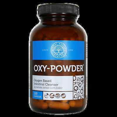 GHC - Oxy Powder - Oxygen Based Intestinal Cleanser - 120 Capsules - Australia