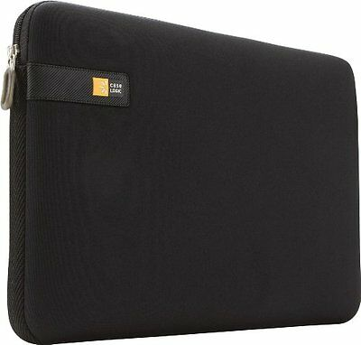"Case-Logic LAPS-113 Sleeve in Neoprene per MacBook e Laptop da 13.3"", Nero"
