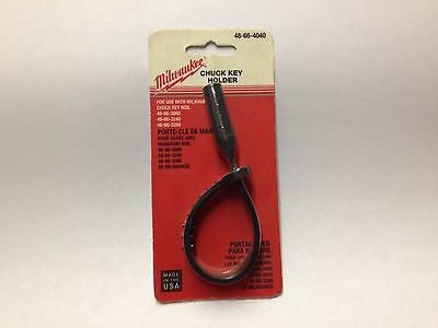 New Genuine Milwaukee Chuck Key Holder 48-66-4040