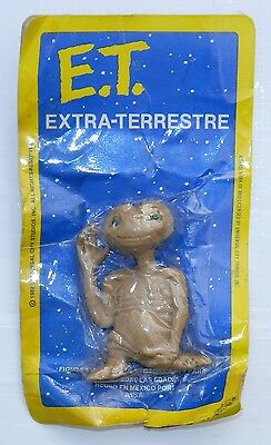 VINTAGE & RARE ET EXTRA TERRESTRIAL MEXICAN RUBBER FIGURE IN PACKAGE 80's.