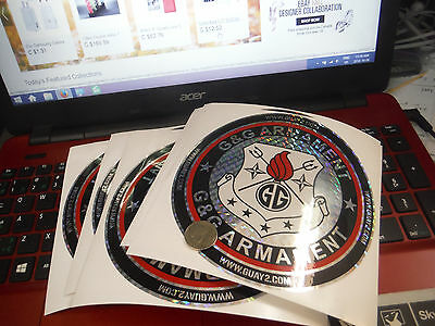 G&G Airsoft Decal - G&G Logo Large 6x6