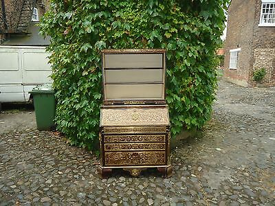 Napoleon Gilt-Bronze and Cut Brass Boulle writing bureau drawers( Reduced )