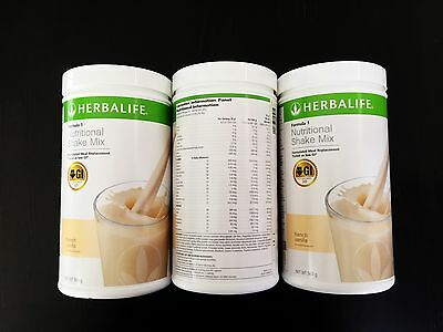 3 Bottles Herbalife Formula 1 F1 Australian Stock (Choose your own flavours)