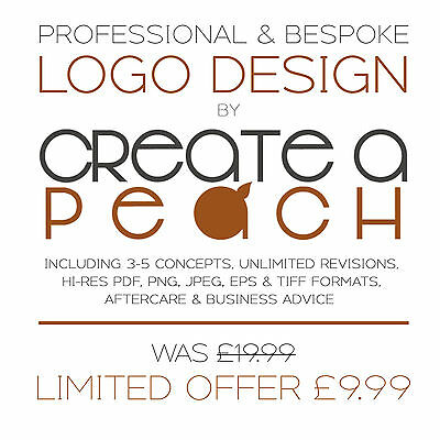 Professional Bespoke Logo Design + Unlimited Revisions. Cheap & Fast. Branding