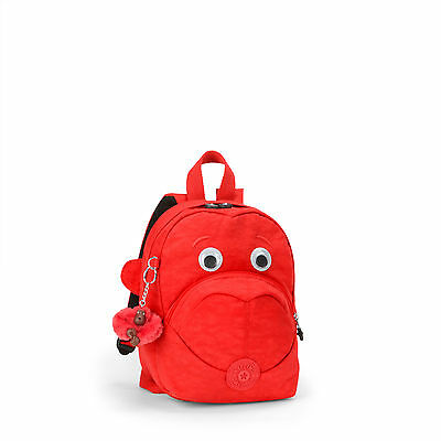 BNWT Kipling FAST Toddler Childs Backpack RED RRP £55