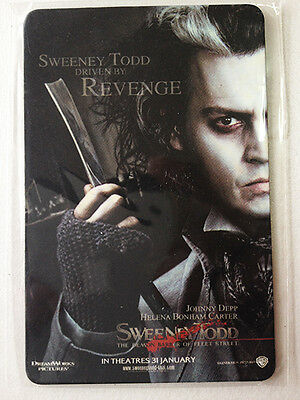 "Fridge Magnet Size 2.5"" x 3.5"" from Movie SWEENEY TODD (2007)"