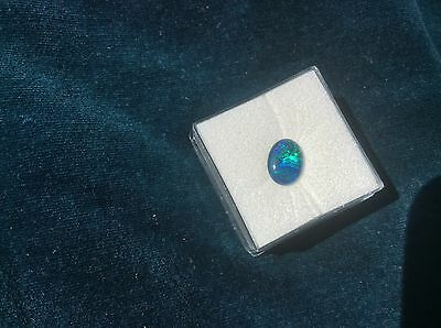 Opal Triplet Cab Stunning colours 9x6mm loose