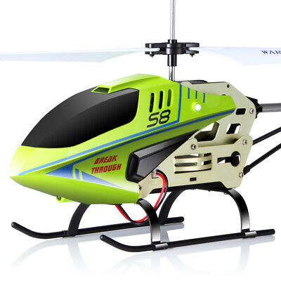 **GENUINE** Syma S8 3 Channel RC Helicopter Gyro Remote Control Black 2017 NEW