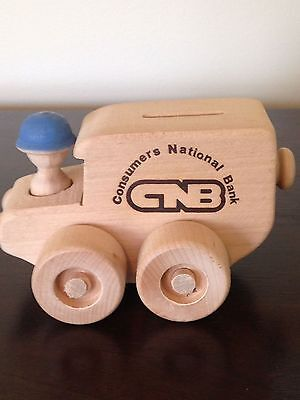 Consumers National Bank/Oregon Wooden Toy Co./1971/collectible