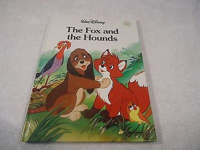 Disney Classic Series Large Book: The Fox and the Hounds RARE!