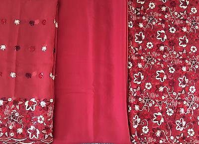 Shalwar Kameez UNSTITCH 3 Piece Suit. New