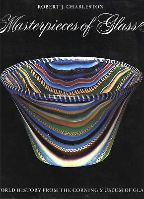 Art Glass - Steuben Chihuly Tiffany Hawkes Stourbridge Galle / Scarce Book