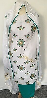Shalwar Kameez Spring/Summer Wear STITCHED 3 Piece suit. New
