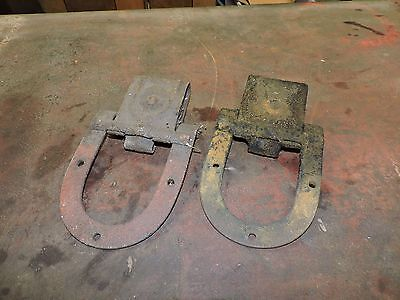 Antique Big Four/4 Pair of Used Roller Track Hinges, 3 of 3 Listed