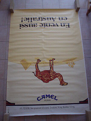 "Camel  official RJR Belgium '92 - ""On sale also in Australia "" 120 x 175"