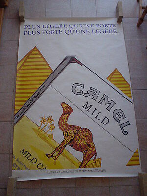 "Camel  official RJR Belgium '93 - ""Lighter than a strong. Stronger than a light"""