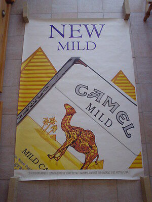 Camel  official RJR Belgium '93 - big poster - New Mild - 120 x 175