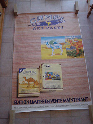 Camel official RJR Belgium '94 - big poster - Art packs Giovanopoulos 120 x 175