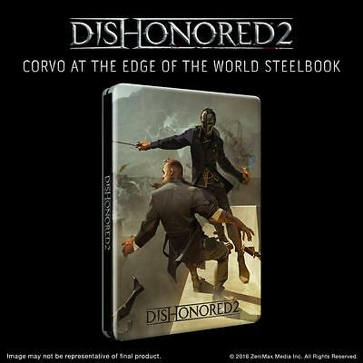 Dishonored 2 Limited Edition Steelbook - G2 | PC | PS4 | XBOX ONE