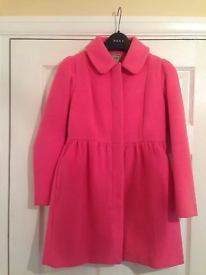 Girls Next Cerise Pink Coat 9 / 10yrs