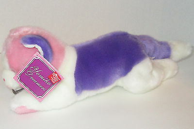"New Russ Yomiko Dreamers Calico Cat Pink Purple Plush Stuffed Kitten 11"" NWT"