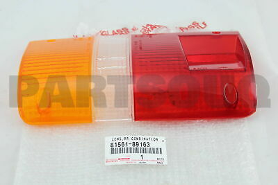 8156189163 Genuine Toyota LENS, REAR COMBINATION LAMP, LH 81561-89163