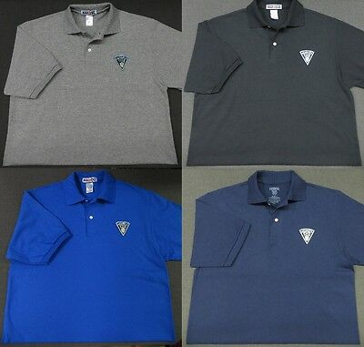 Massachusetts State Police Patch Polo Shirt - MED to 3XL - 4 Colors - NEW