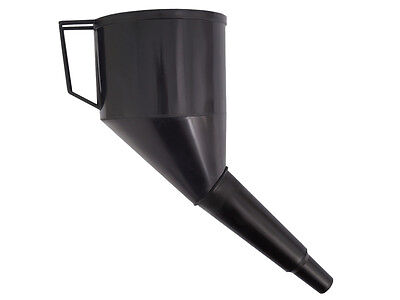 Blue,Red or Black Angled Plastic Funnel Diesel Petrol Oil Water Any Liquid