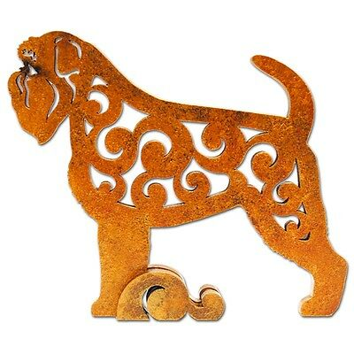Brussels Griffon figurine, statuette made of wood