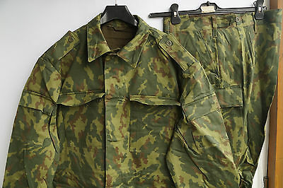 56/4 camouflage Russian Army uniform suit Dubok flora VSR VSR93 1993 100% cotton