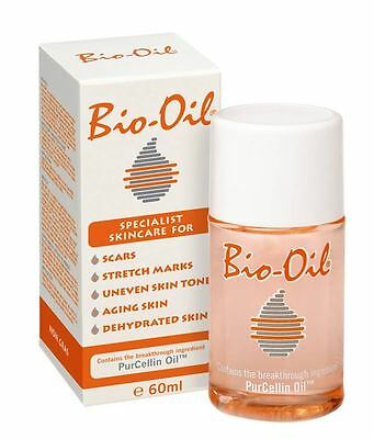 Bio Oil Purcellin Oil 60ml 2oz Skincare for Stretch Mark Scar Uneven Skin Tone